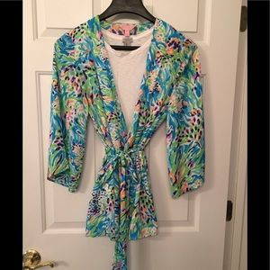Lilly Pulitzer Robe - Medium